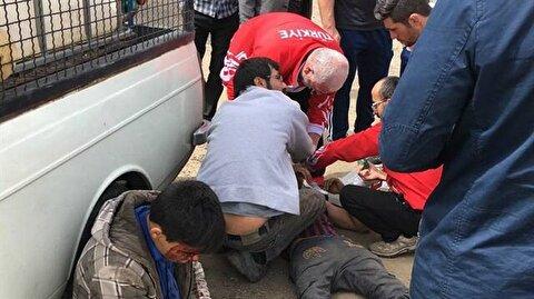 Güreş Milli Takımı Tahran'da kaza yaptı