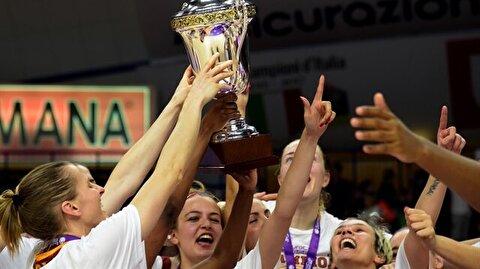 سيدات غلاطة سراي بطلات كأس أوروبا للأندية للمرة الثانية