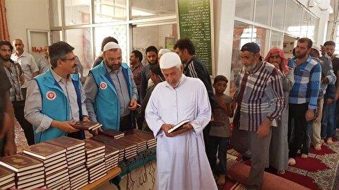 وقف الديانة التركي يوزع ألفي نسخة من معاني القرآن بـ 12 لغة