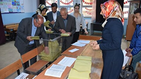 Turkish presidential election results in main provinces