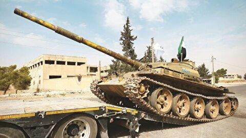İdlib'den çekildiler