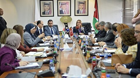 Turkish, Jordanian trade ministers discuss FTA