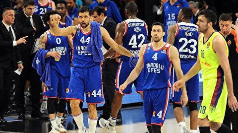 Euroleague dörtlü finalinde Türk derbisi oynanacak