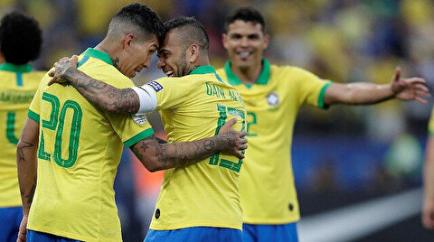 Brezilya'dan 5 gollü galibiyet