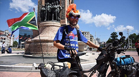 South African biker cycles 8,800 km for autism