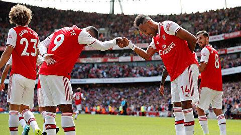 Arsenal 2'de 2 yaptı