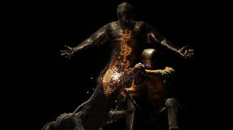 Batalla'nın heykeli yapıldı