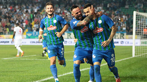 Çaykur Rizespor-Demir Grup Sivasspor: 2-1