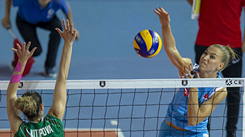 Volleyball: Turkey beats Bulgaria in Euro Championship