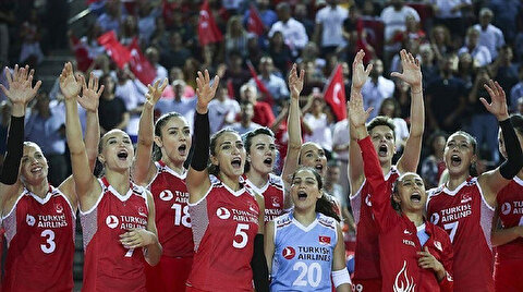 Volleyball: Turkey beat France in Euro Championship