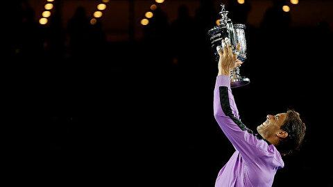 Nadal wins US Open men's final against Medvedev