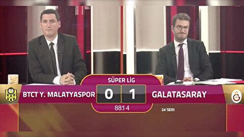 Son dakika golü sonrası GSTV buz kesti