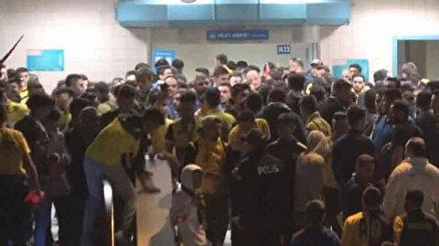 Ankaragücü-Beşiktaş maçı sonrası kavga çıktı