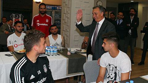 Ahmet Nur Çebi'den futbolculara: Size yalan söylemeyeceğim