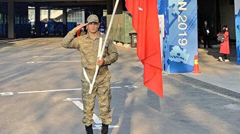 Taha Akgül Askeri Olimpiyat Oyunları'nda şampiyon oldu