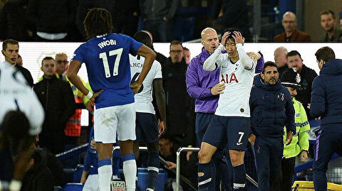 Tottenhamlı Heung-Min Son'un kırmızı kartı iptal edildi