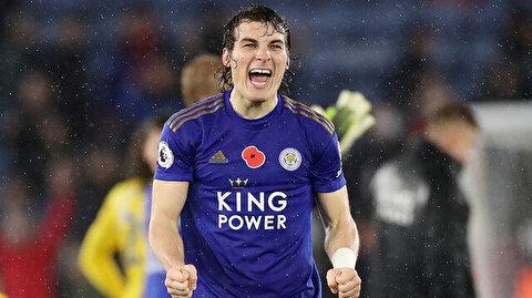 Çağlar'lı Leicester City doludizgin