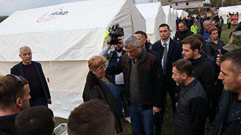 """""""آفاد"""" التركية تواصل أعمال البحث والإنقاذ في ألبانيا"""