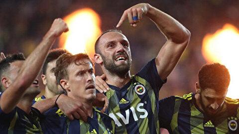 Fenerbahçe'de Muriqi ve Kruse kadroda yer aldı