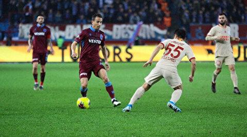 Trabzonspor-Galatasaray:1-1