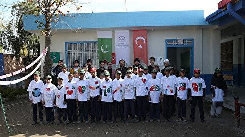 """""""الشؤون الدينية"""" التركية تفتتح مدرسة رياض أطفال في باكستان"""