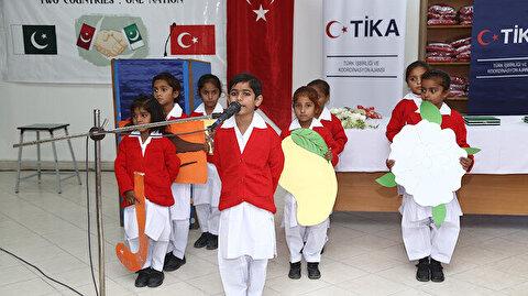 """""""تيكا"""" التركية توفر الزي المدرسي لـ 1500 طالبة باكستانية"""