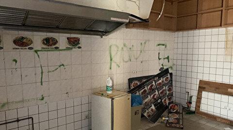 مجهولون يرسمون صليبا معقوفا على جدار مطعم تركي في برلين