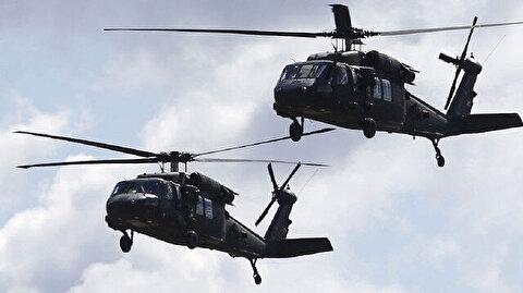 تحليق كثيف لمروحيات أمريكية في محيط مطار بغداد