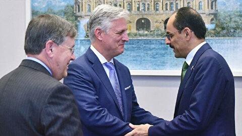 قالن وأوبراين يبحثان الوضع الأمني في سوريا وليبيا