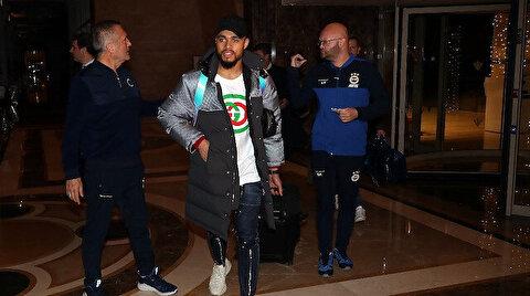 Fenerbahçe'de Falette'ye lisans çıkmadı: Oyuncu İstanbul'a döndü