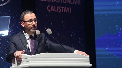 Bakan Kasapoğlu açıkladı: Spor kulüpleri yasası Meclis'e geliyor