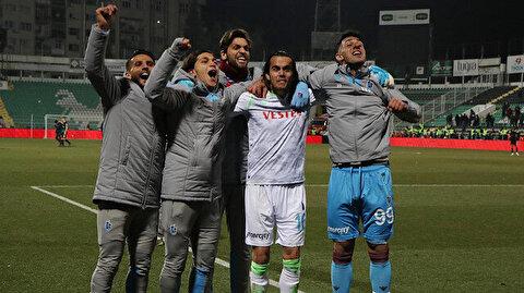 Trabzonspor seri penaltı atışları sonucunda çeyrek finalde