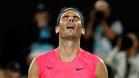 Tennis top seed Nadal eliminated from Australian Open
