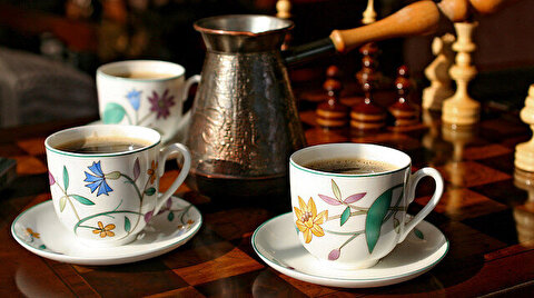 Russia adopts coffee-drinking from Ottoman Empire