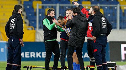 Süper Lig'de şoke eden sakatlık: Elmacık kemiği ve yan göz kemiğinde kırık var