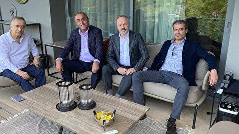 Yönetimden Mustafa Cengiz'e geçmiş olsun ziyareti