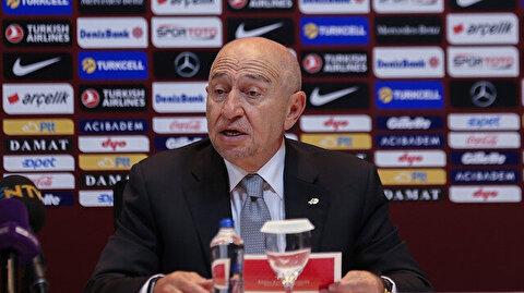 TFF Başkanı Nihat Özdemir ligin kaderini açıkladı