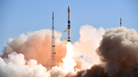 China's launches two more satellites into space