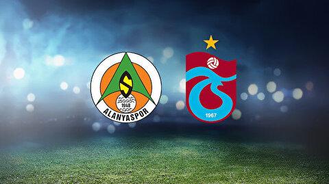 Alanyaspor-Trabzonspor maçı ne zaman, saat kaçta, hangi kanalda?