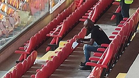 Süper Lig'e sürpriz transfer: Maçı izlemek için stadyuma geldi