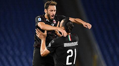 Hakan Çalhanoğlu attı, Milan Lazio'yu dağıttı: İşte Lazio Milan maçının özeti