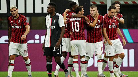 ÖZET   Milan'dan Juventus maçında muhteşem geri dönüş: Dünya bu maça kilitlendi