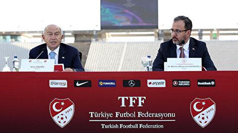 Bakan Kasapoğlu TFF Yönetim Kurulu toplantısına katıldı