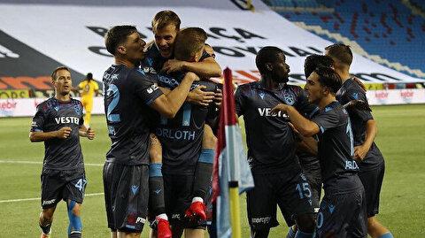 Trabzonspor gol oldu yağdı: Son 24 sezonu geride bıraktı