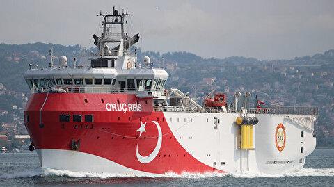 Turkey's Oruc Reis vessel on new duty in E.Med.: Min.