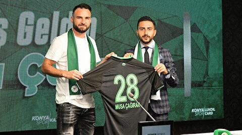 Konyaspor'dan yeni transferine özel video: Sihirli el
