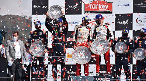 British Elfyn Evans conquers Rally Turkey