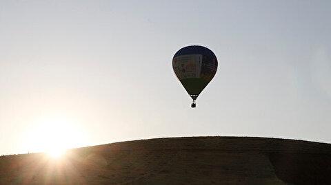 """تركيا.. جولات تجريبية لمناطيد فوق """"غوبكلي تبة"""" الأثرية"""