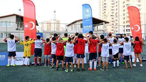 باريس سان جيرمان يفتتح أكاديمية لكرة القدم بمرسين التركية