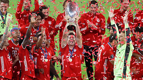 Bayern Sevilla'yı devirdi, Süper Kupa'yı kaldırdı (ÖZET)